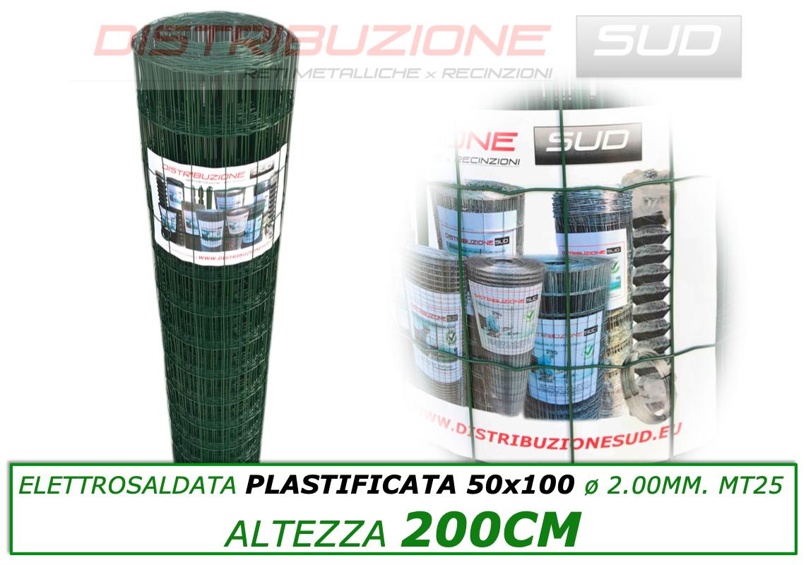 rete elettronica saldata plasticata