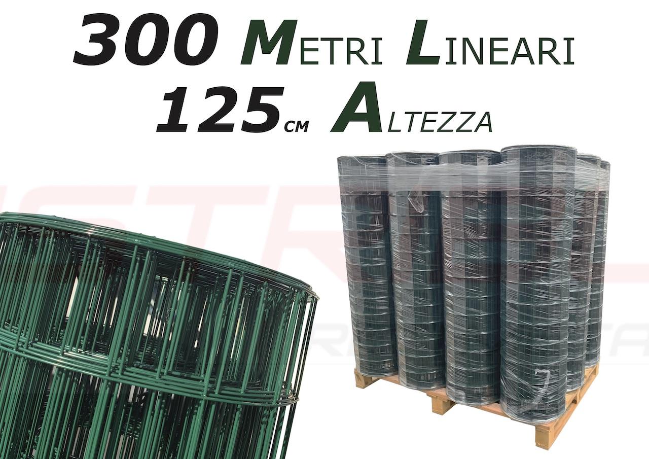 rete plasticata altezza 125CM
