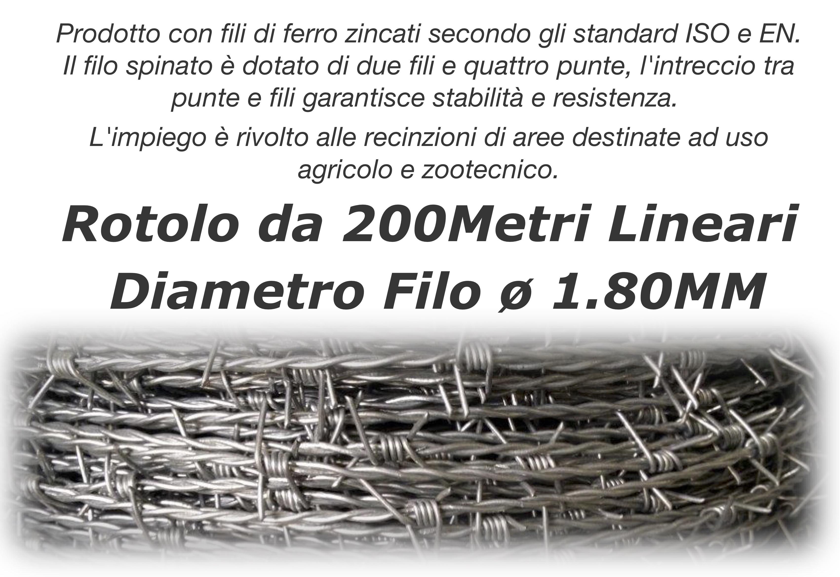 Rotolo da 200Metri Lineari