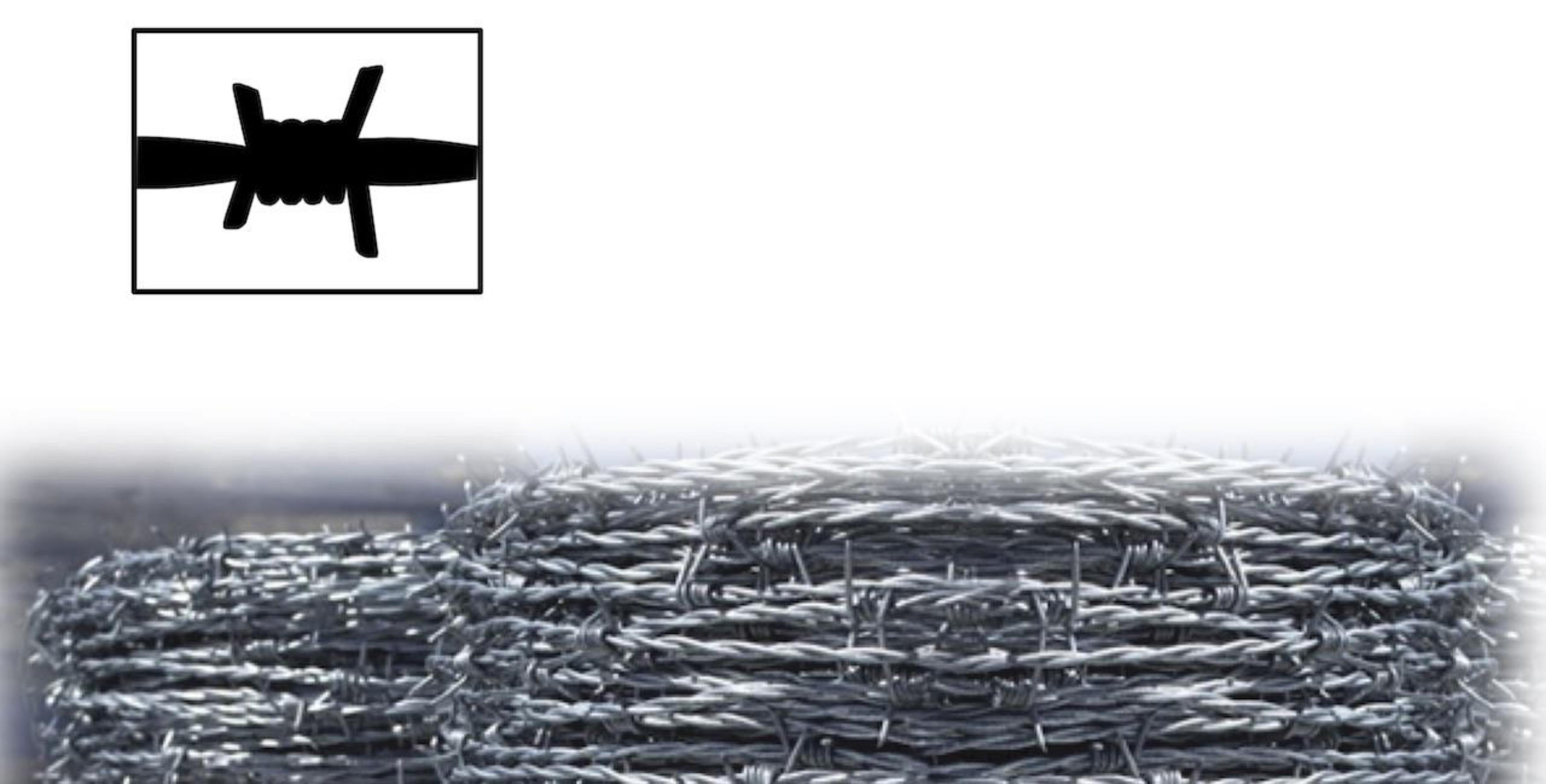 filo spinato per uso zootecnico
