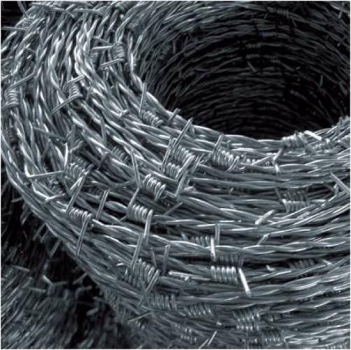 coppia di fili e quattro punte in acciaio