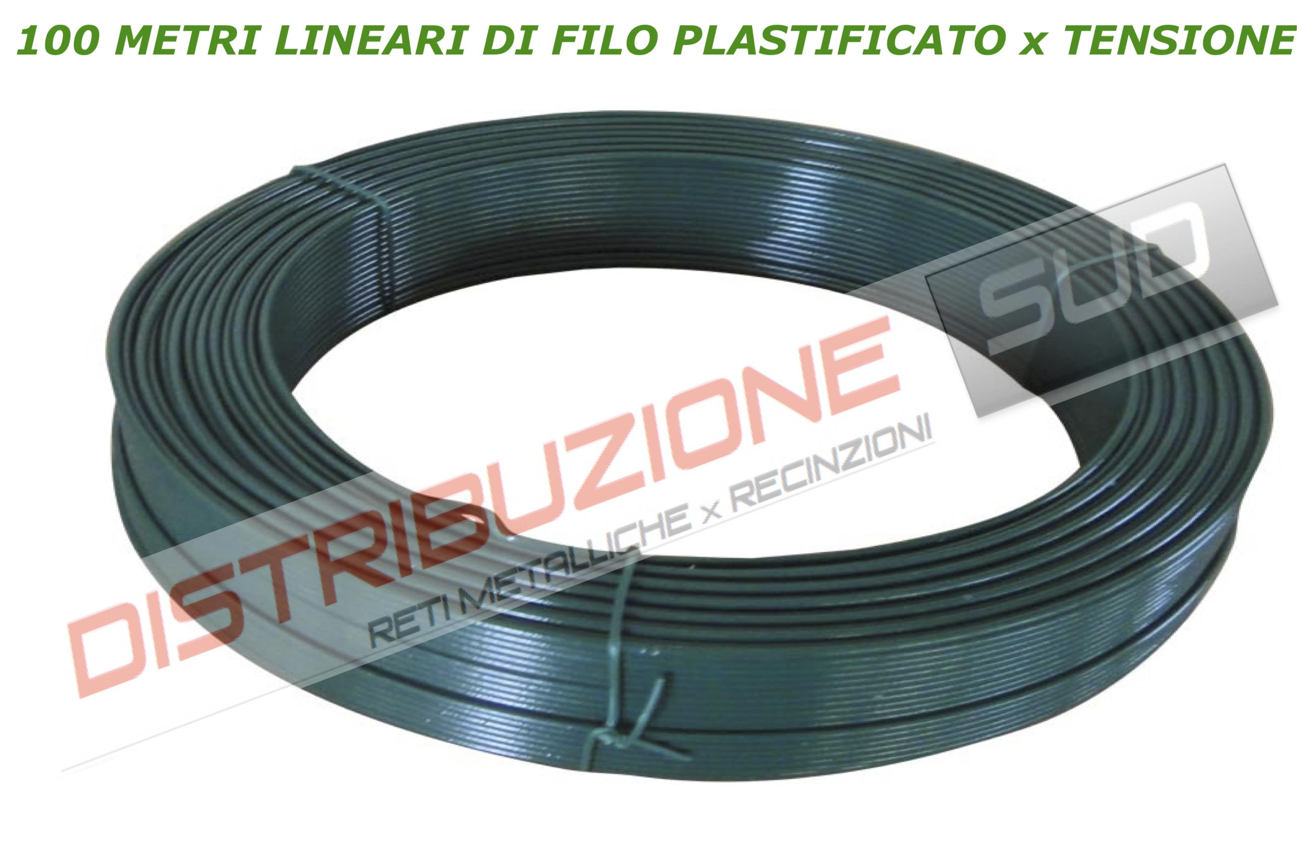 100 metri lineari plastificato x tensione