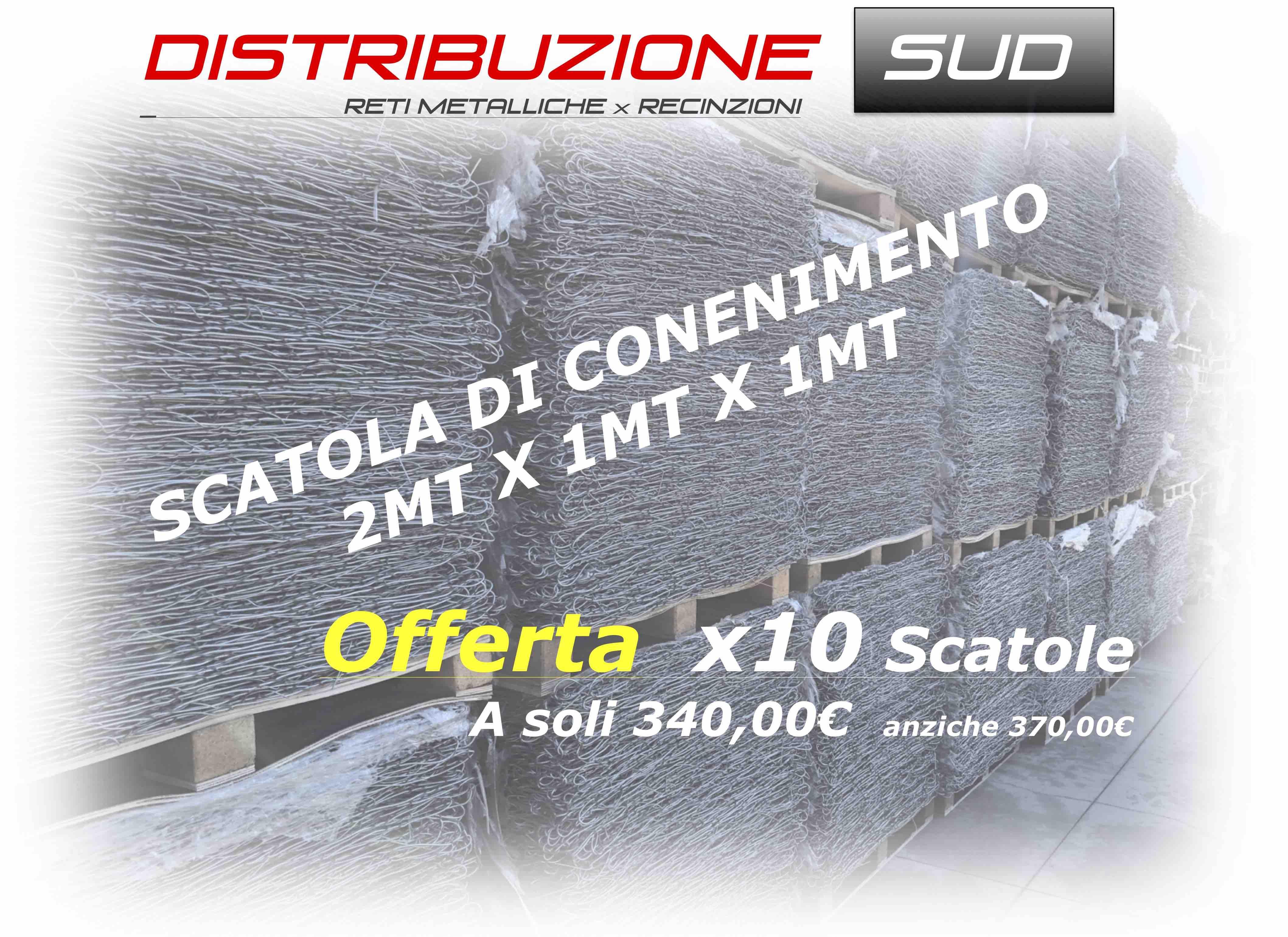 Scatolone Metallico 2x1x1