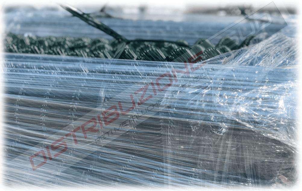 Rete GRIGLIA  zincata prodotta con filo PLASTICATO