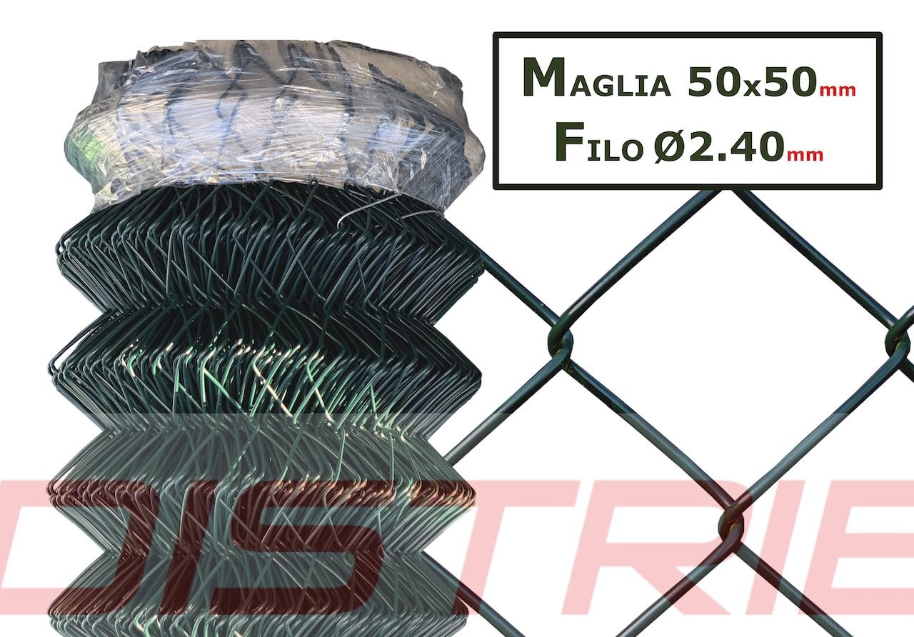 Rete con maglia romboidale 50x50