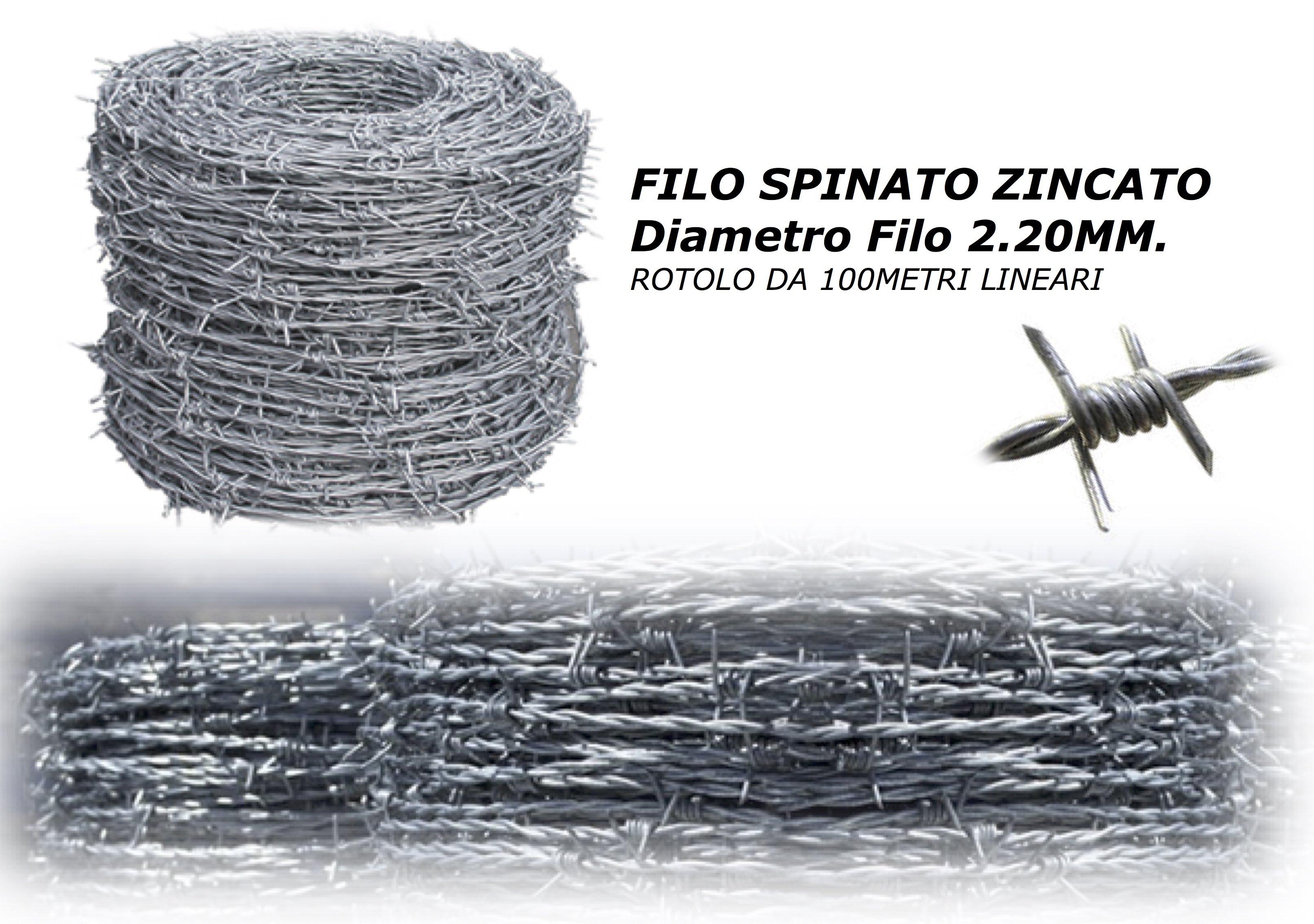 filo spinato zincato