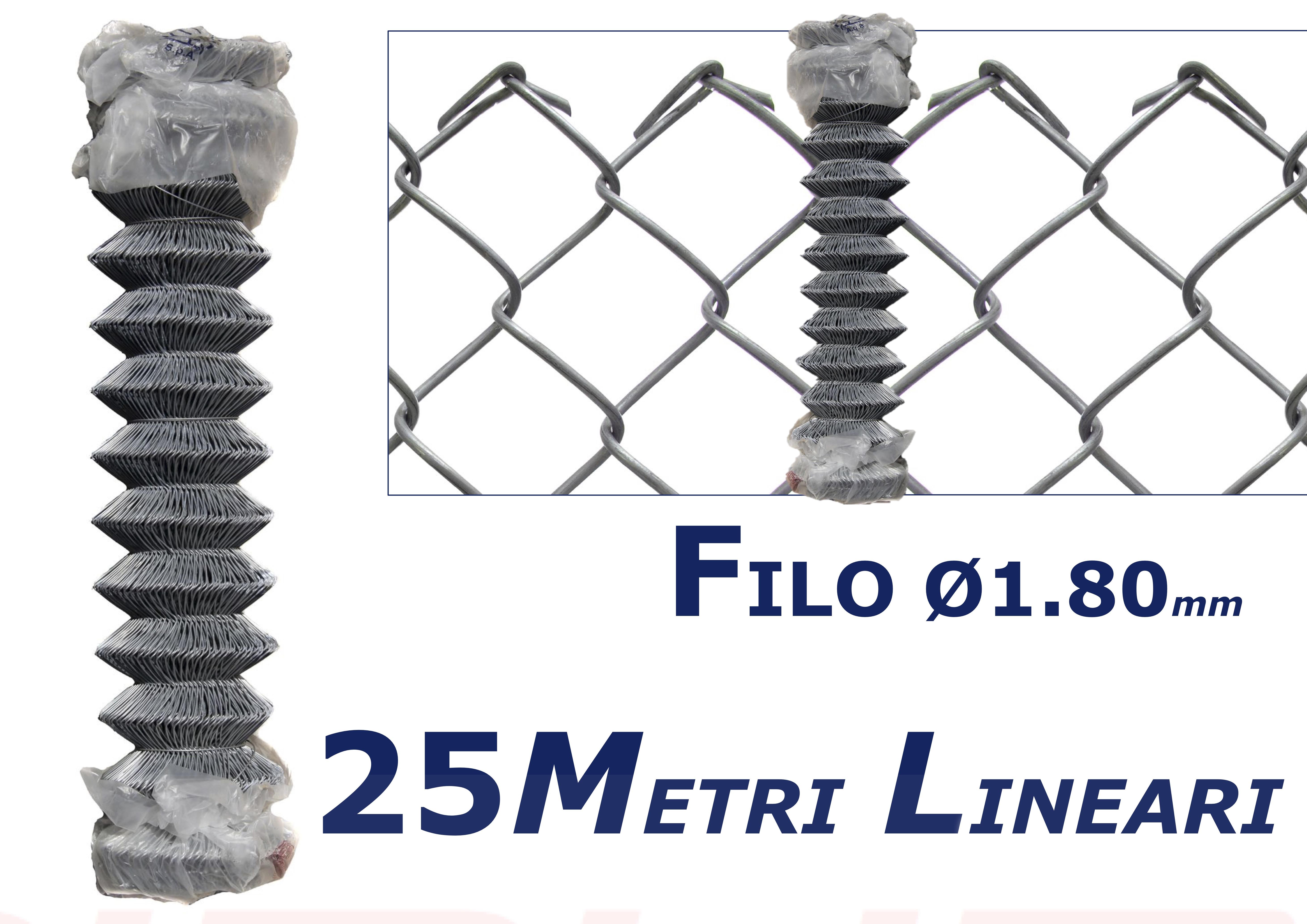 rete 25 metri