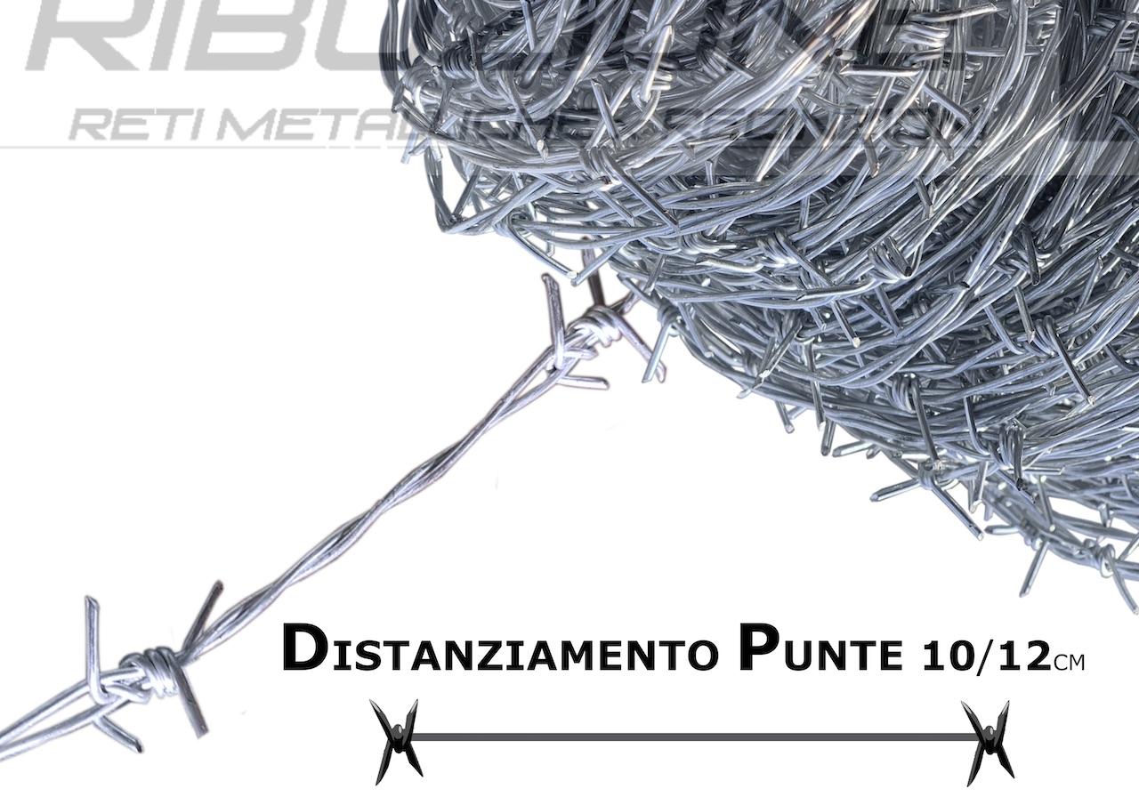 distanziamento da punta a ounta 10/12cm