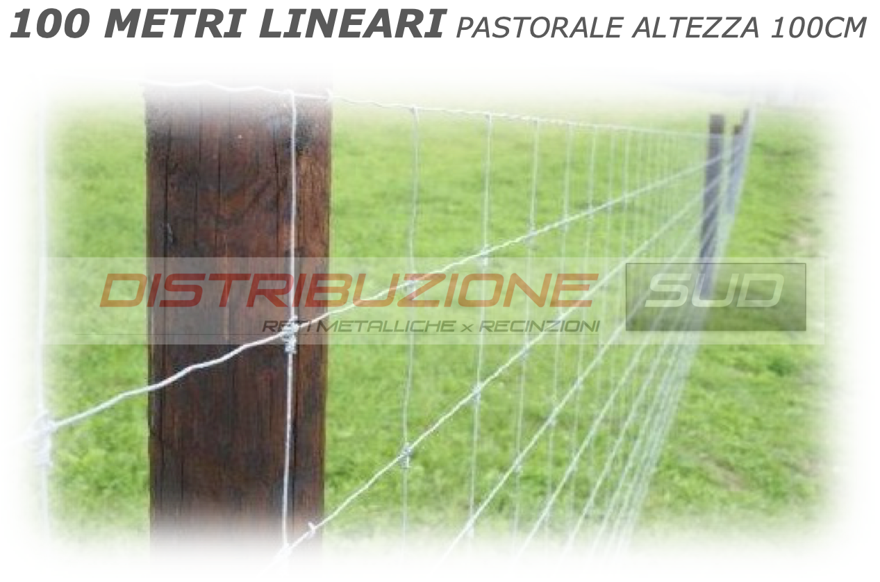rete per cinghiali pastorale 100 metri lineari