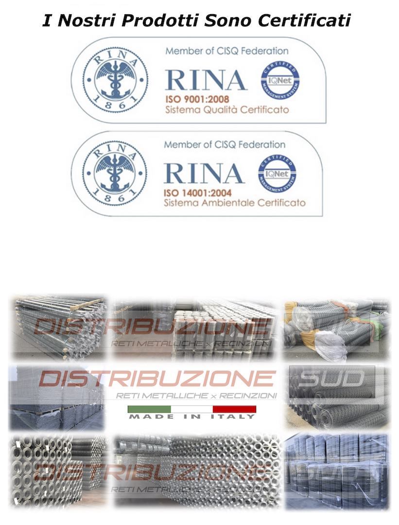 spedizione in tutta italia vendita online di rete metallica per recinzione
