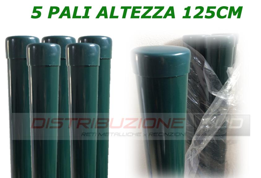 paletti tubo h125cm