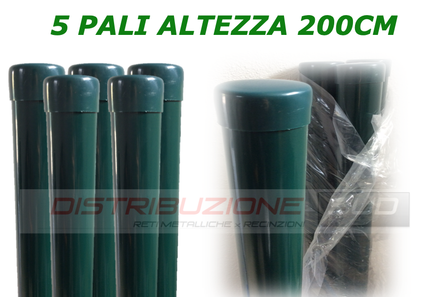 pali tubolari plasticati