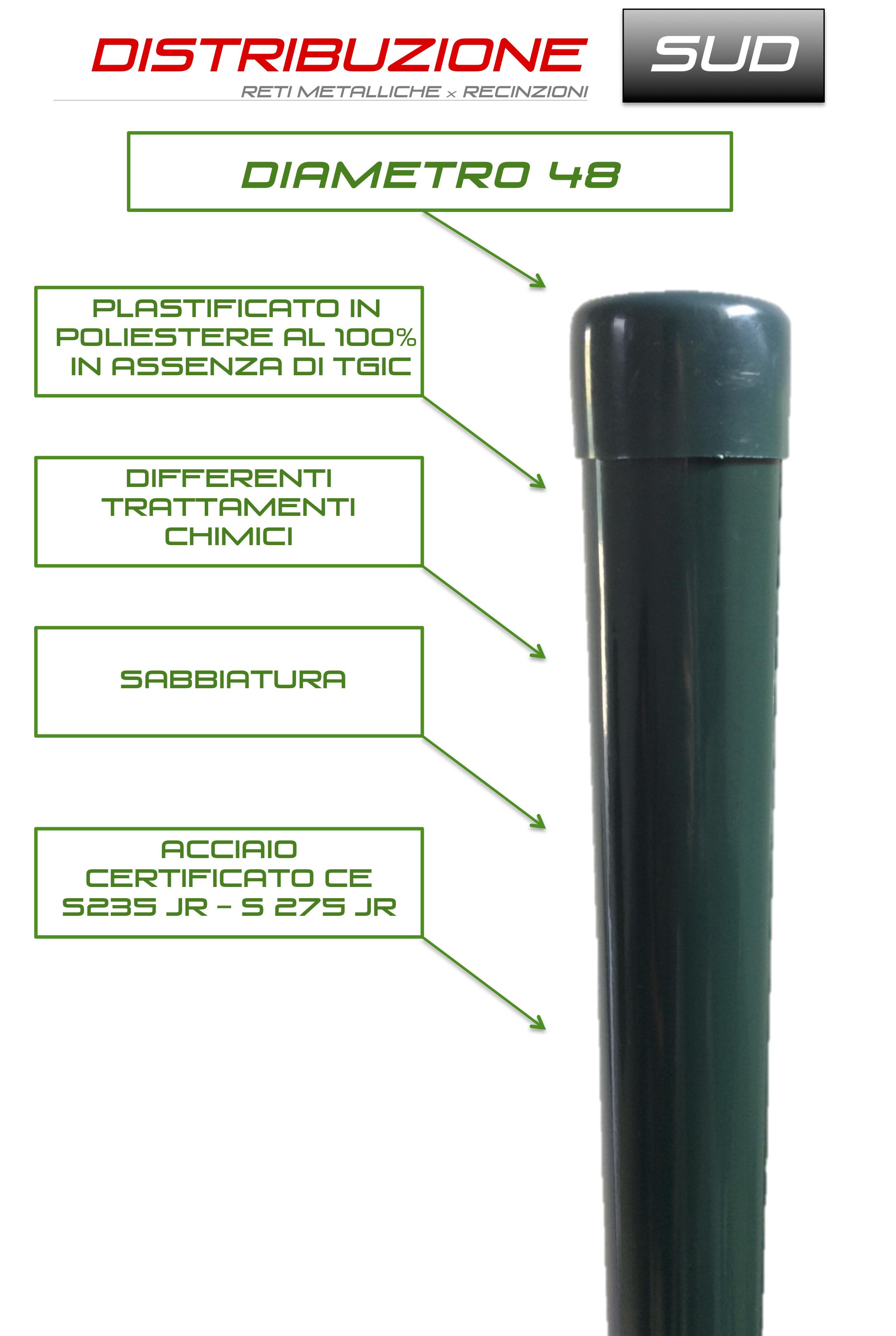trattamenti chimici palo verde tubo