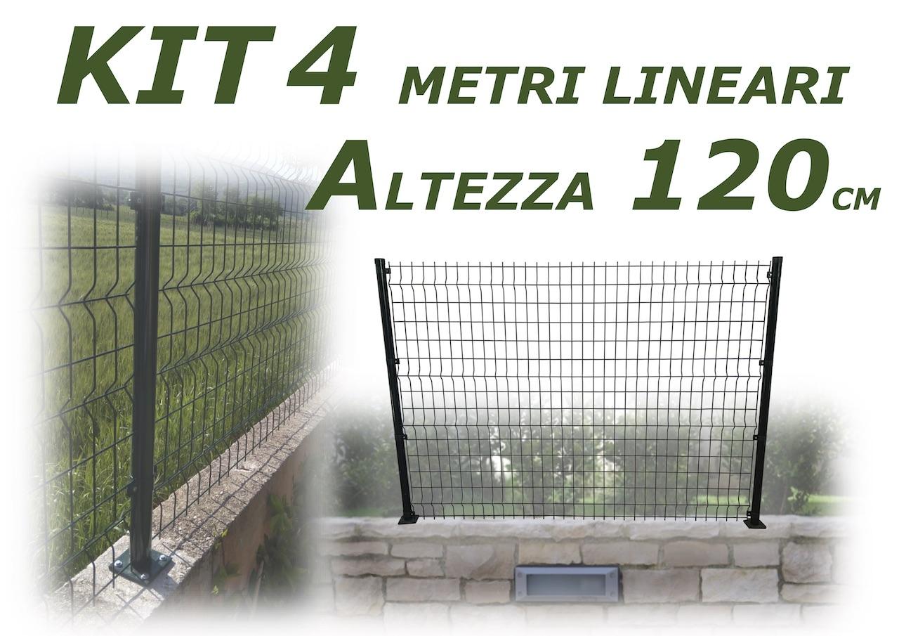 kit pannelli 4 metri lineari