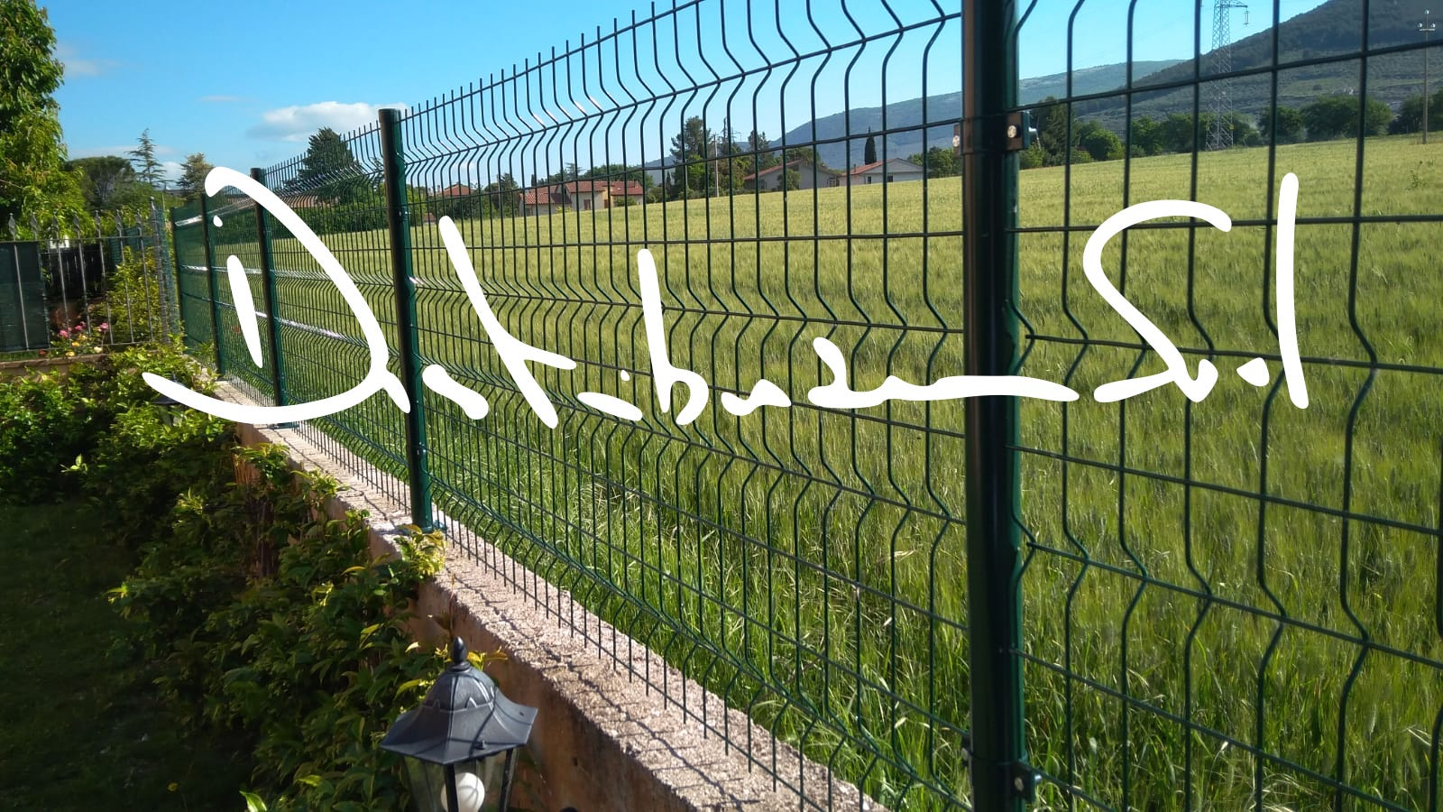 recinzione per giardino
