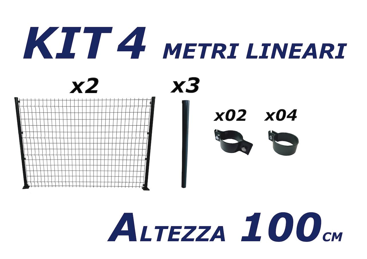kit pannelli da 4 metri lineari