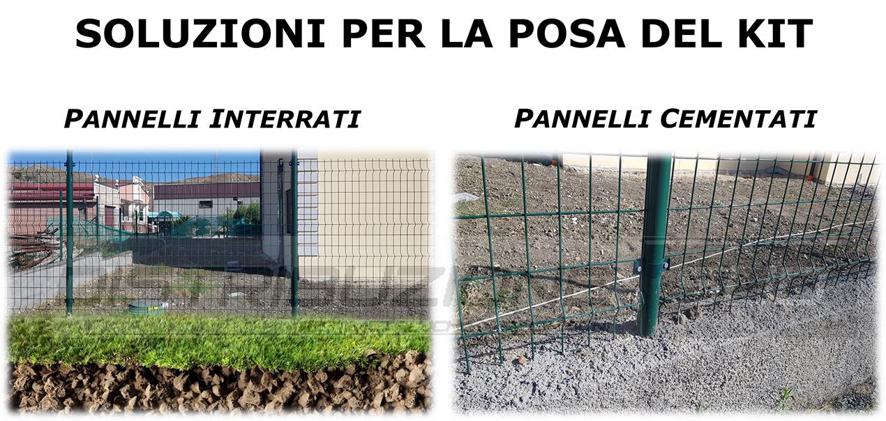 kit posa per recinzione