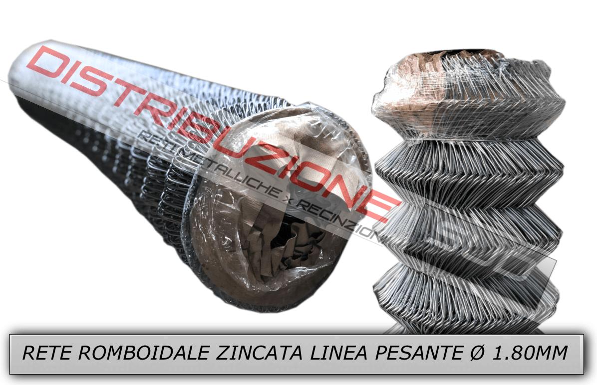 rete rombo zinco linea pesante