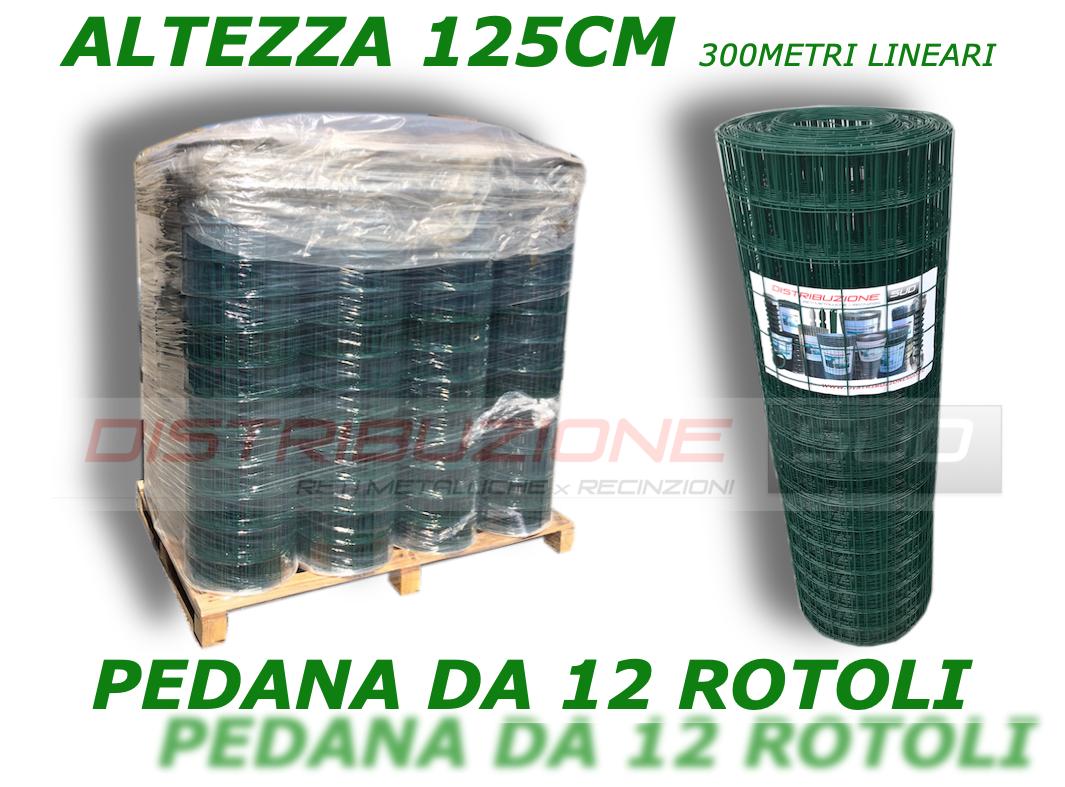 Pallet rete 50x75 plastificata verde