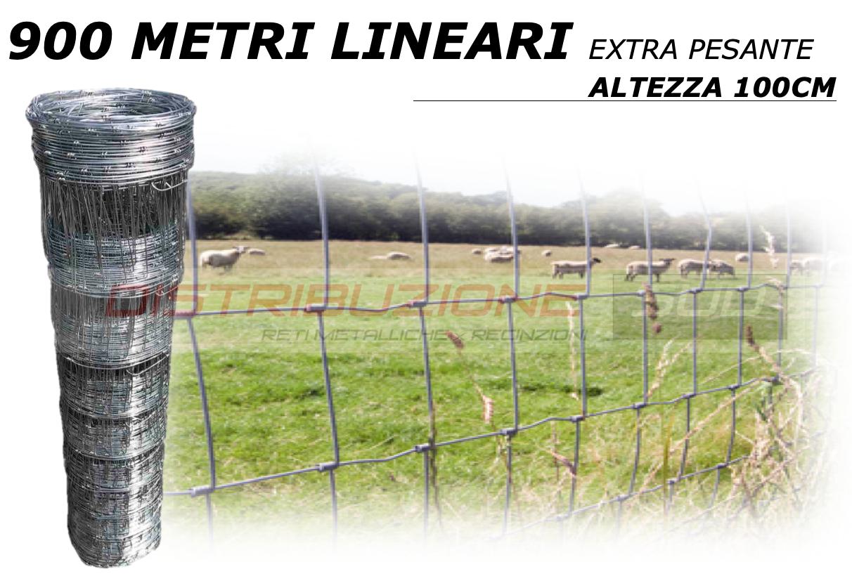 rete pastorale da 900 metri lineari