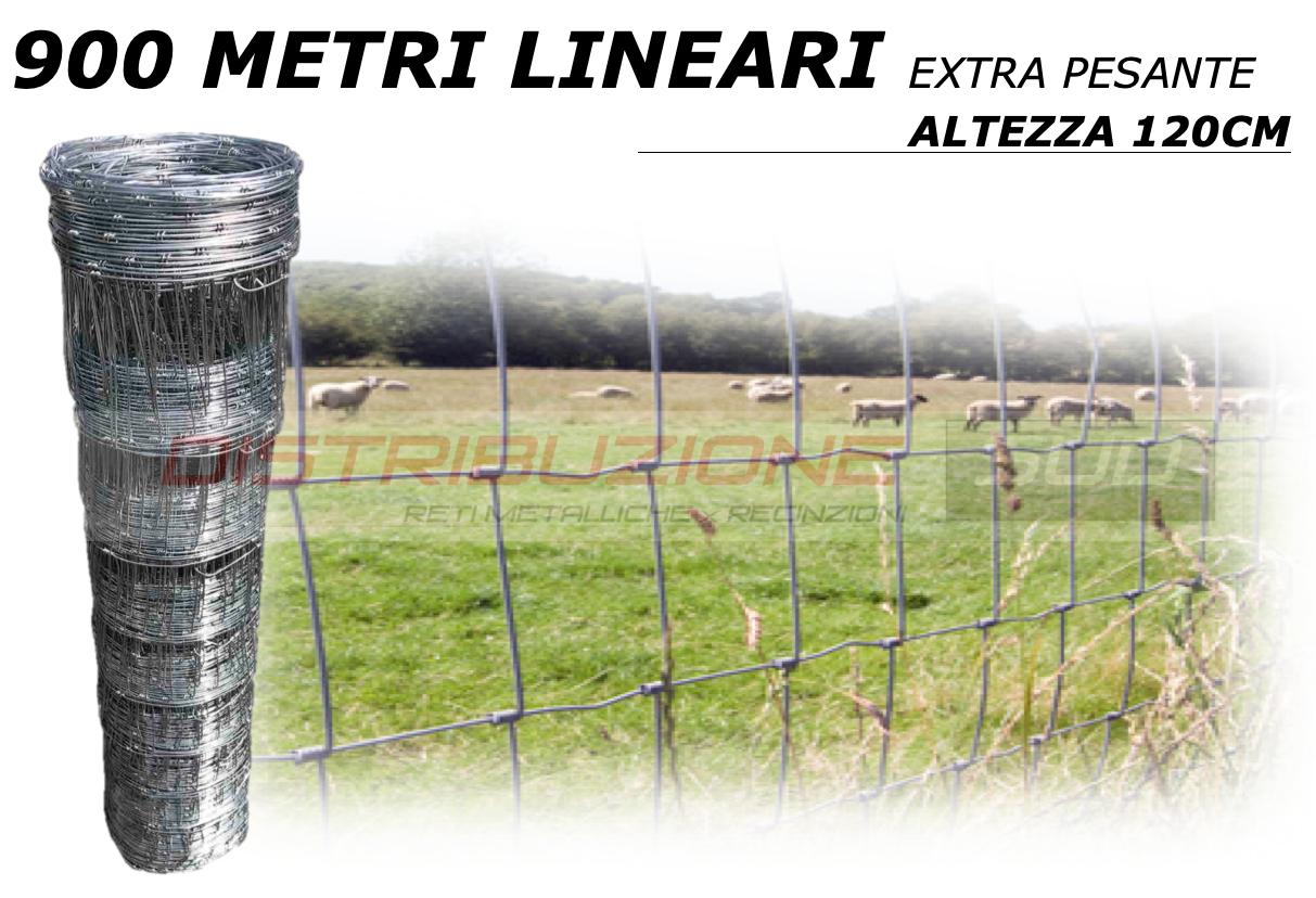 rete metallica realizzata annodando il filo verticale su quello orizzontale.