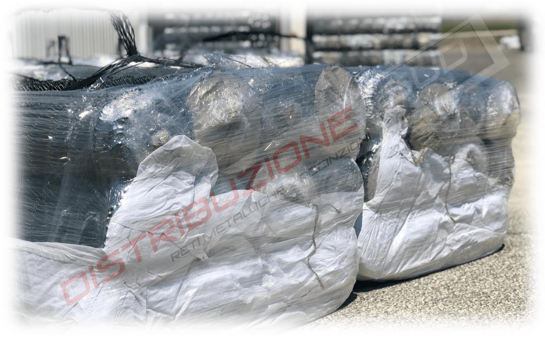 rete metallica per griglia