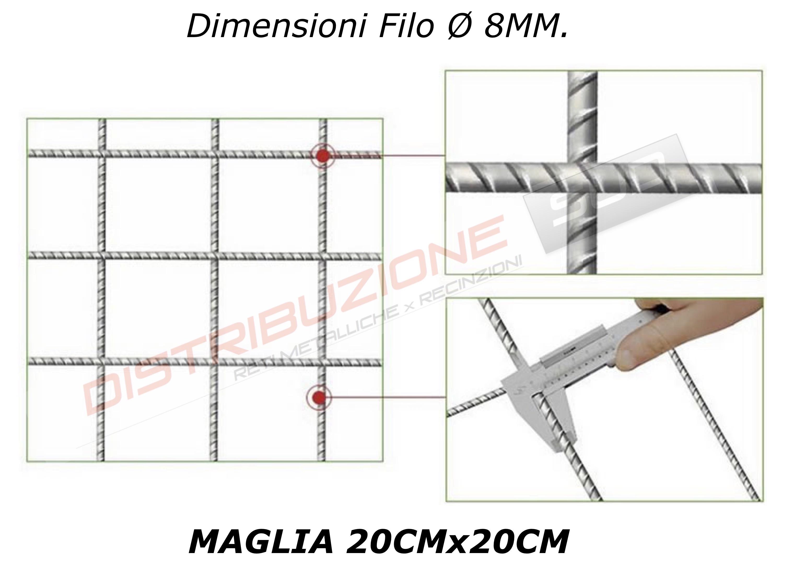 misura diametro filo