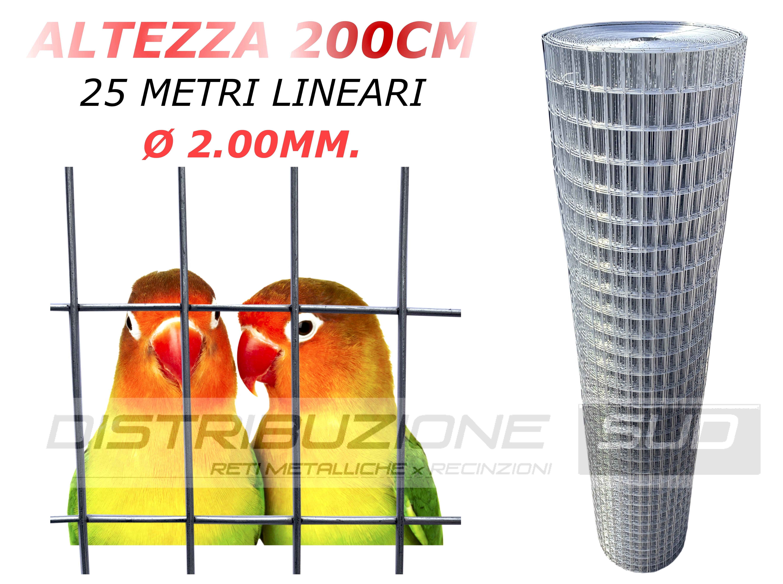 25x50 Altezza 200 cm
