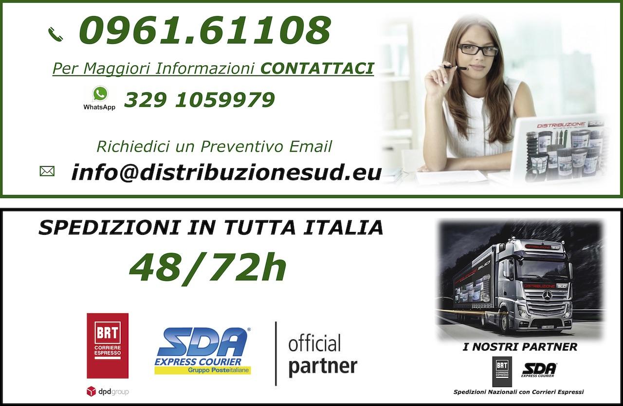Spedizioni in tutta italia SDA O BARTOLINI