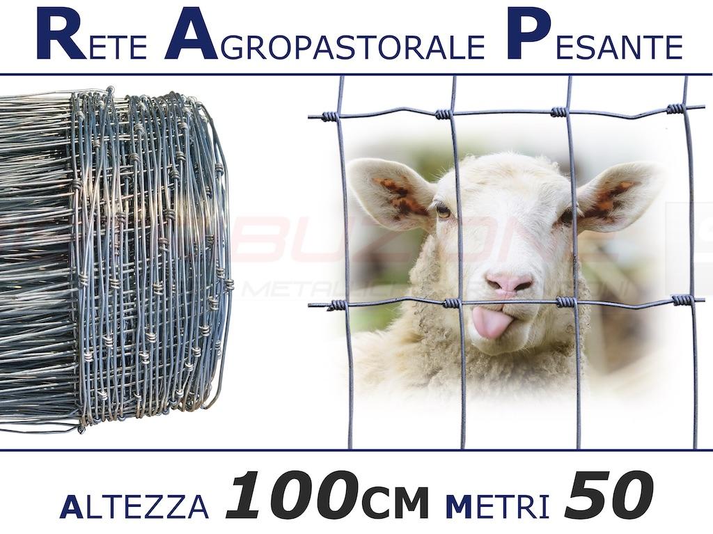 """Rete Agropastorale 100m con Altezza 100CM\"""" title="""