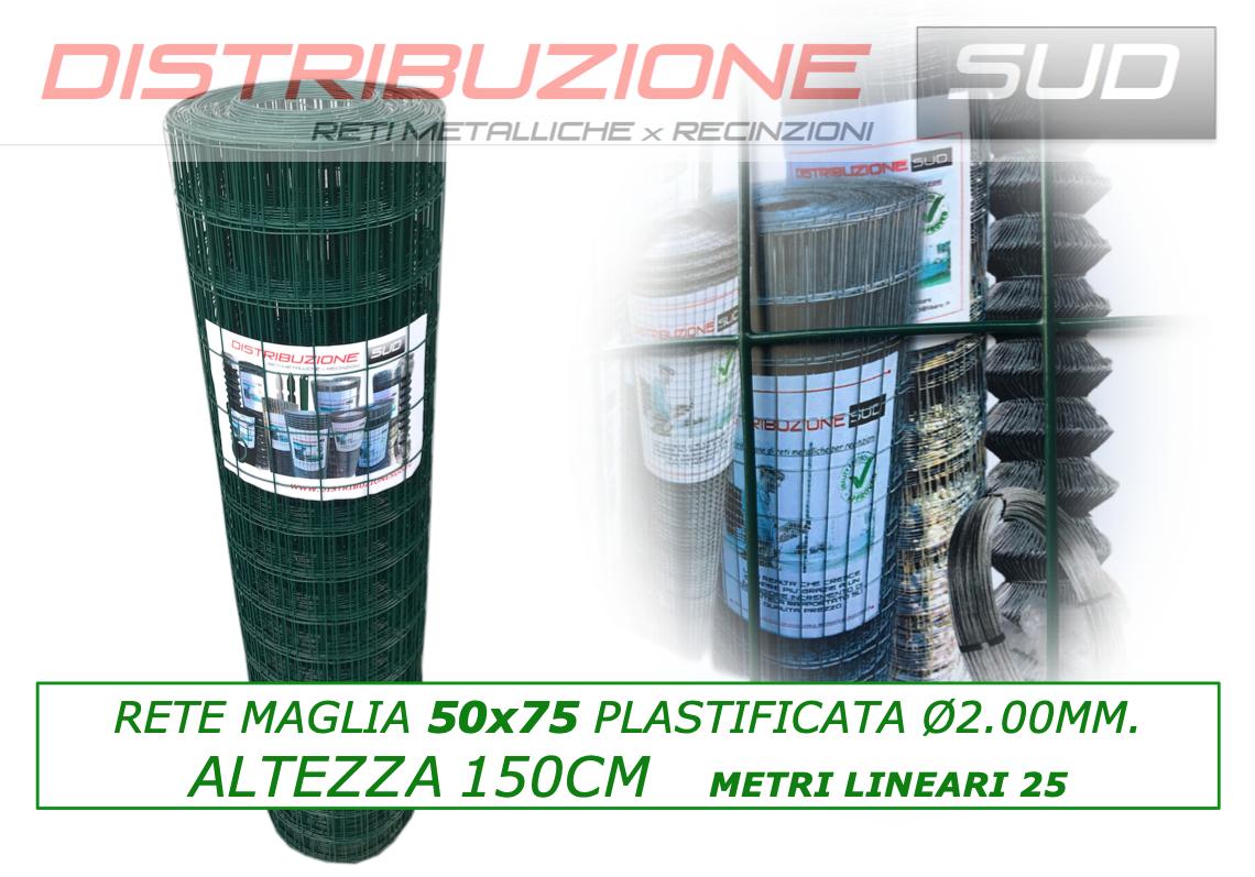 rete plastica 50x75