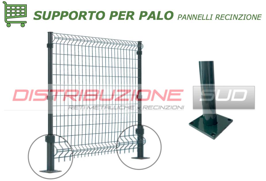supporto per palo tubolare pannelli