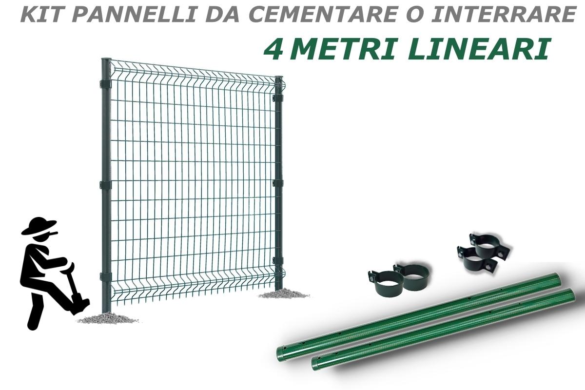 KIT Pannelli da cementare per 4 metri lineari